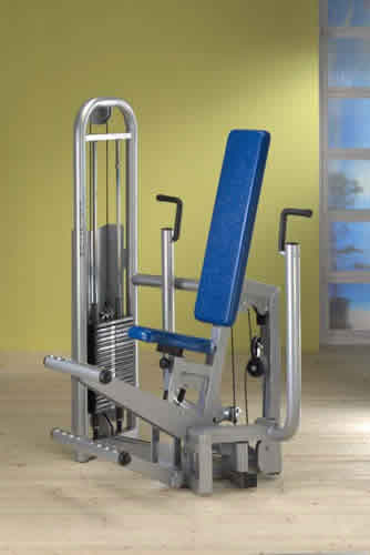 Pek dek verticale (chest press)