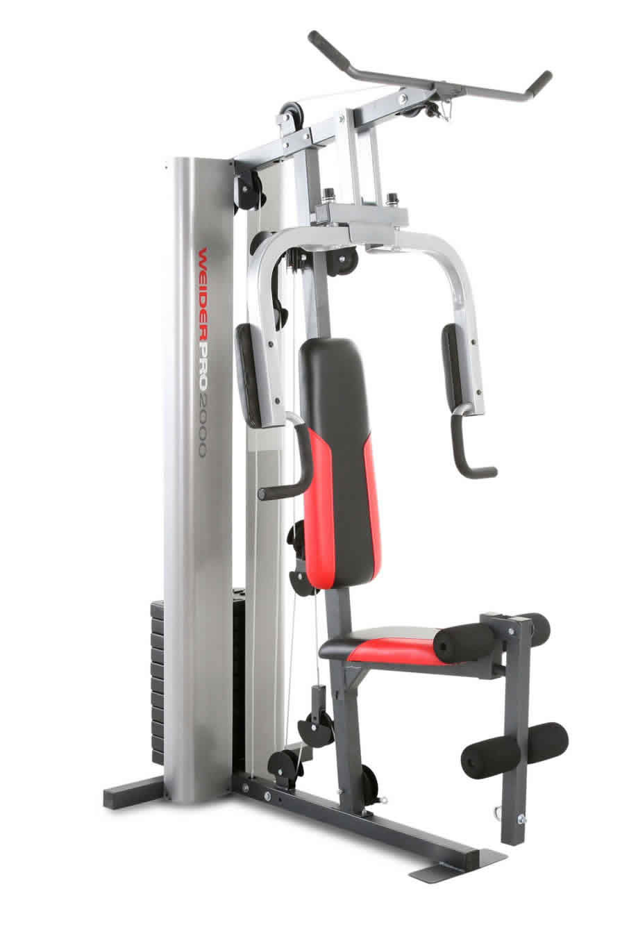 Stazione Butterfly / Leg Developer / Arm Press / high Pulley Lat tower con barra / Low Pulley - PRO 2000