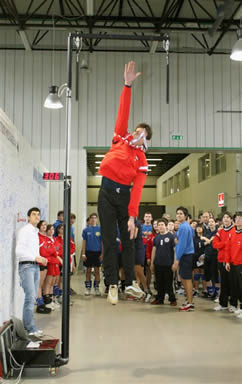 Jump tester elettronico - Training Tester
