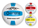 Pallone beach-volley in p.u. cucito, colorato, F.I.V.B.